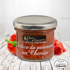 Délice de poivrons au chorizo