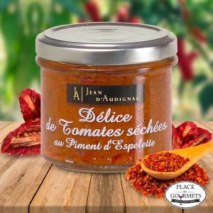 Délice de tomates séchées au piment d'Espelette