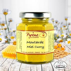 Moutarde au miel et curry