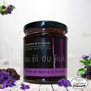 Confiture de mûre à la violette