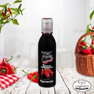 Crème de vinaigre balsamique IGP Modène aromatisée au piment