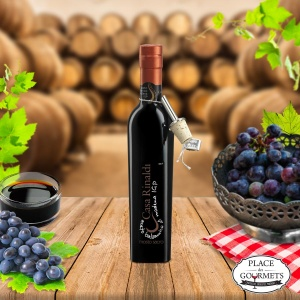 Vinaigre balsamique IGP Modène Mosto Sacro, avec bec verseur