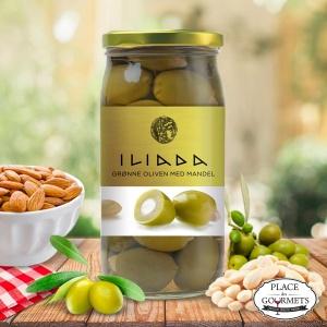 Olives vertes fourrées à l'amande
