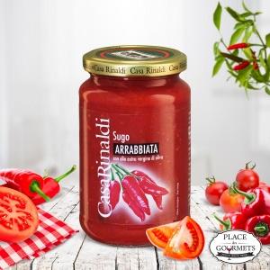 Sauce tomate Arrabiata à l'huile d'olive extra vierge, pour pâtes italiennes