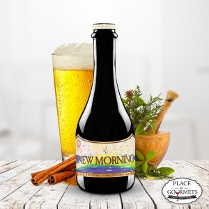 New Morning bière italienne aux arômes d'herbes et épices