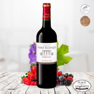 Château Terre Blanque, vin rouge de Bordeaux