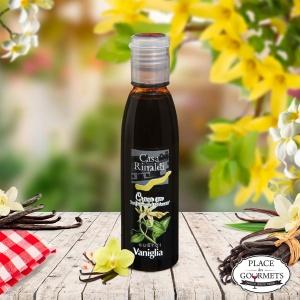 Crème de vinaigre balsamique IGP Modène aromatisée à la vanille