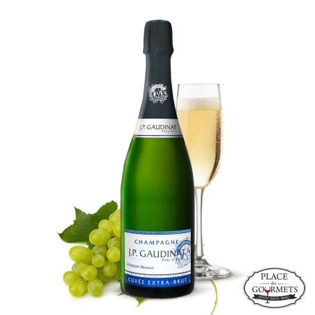 Champagne extra brut JP Gaudinat