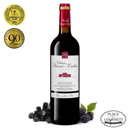 Bordeaux supérieur Château Rousset Caillau rouge 2016