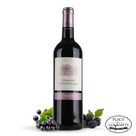 Vin rouge Domaine l'Oustalnau 2013 de Languedoc
