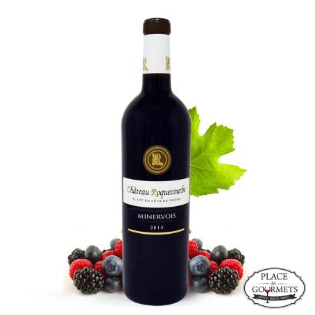 Vin rouge Château Roquecourbe Languedoc millésime 2014