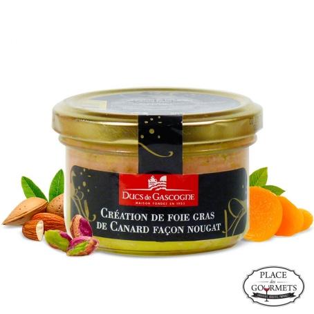 Création de foie gras de Canard façon nougat