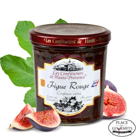 Confiture à la figue rouge