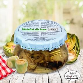 Artichauts grillés à l'huile d'olive extra vierge