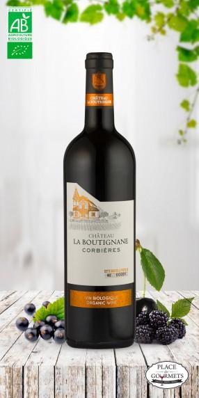 Château la Boutignane vin rouge Corbières bio 2017