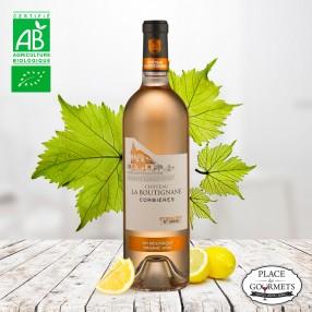 Château la Boutignane vin rosé Corbières Bio 2017