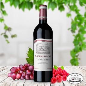 Vin rouge Château Fonties de Corbieres, Languedoc 2016
