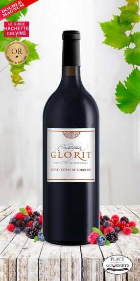 Double magnum Château Glorit vin rouge