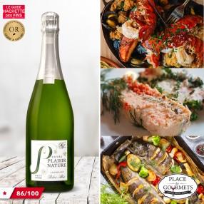 Champagne brut nature Robert-Allait cuvée Plaisir Nature