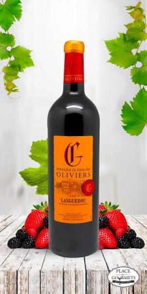 Château Grès des Oliviers vin rouge du Languedoc millésime 2016