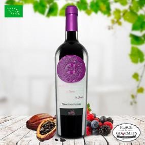 Vin bio italien Sule Primitivo IGP Puglia