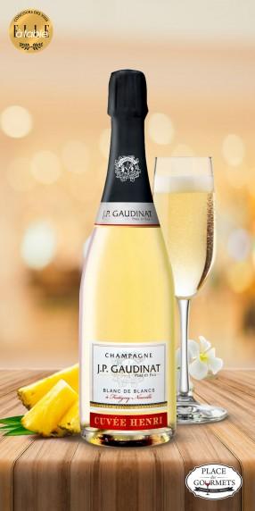 Champagne millésimé blanc de blancs brut JP Gaudinat 2013