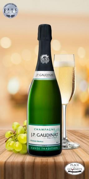Champagne brut JP Gaudinat Tradition