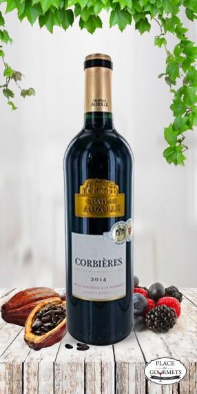 Vin rouge Château Auzolle, Languedoc 2014
