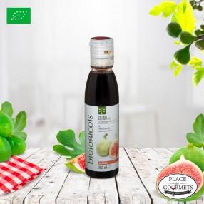 Crème de vinaigre balsamique bio IGP Modène aromatisée figue