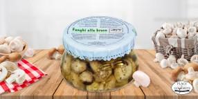 Champignons grillés à l'huile d'olive extra vierge